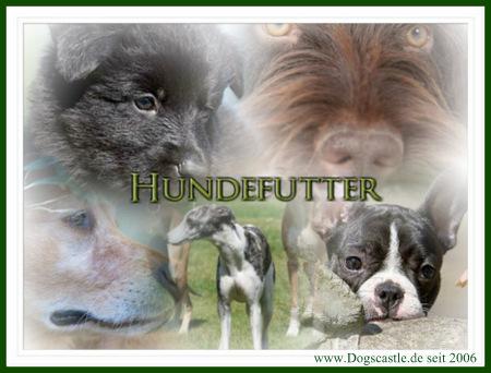 hundefutter hundenahrung premiumfutter hunde dogscastle. Black Bedroom Furniture Sets. Home Design Ideas