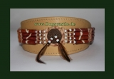 Windhundhalsband Indian Spirit Leder